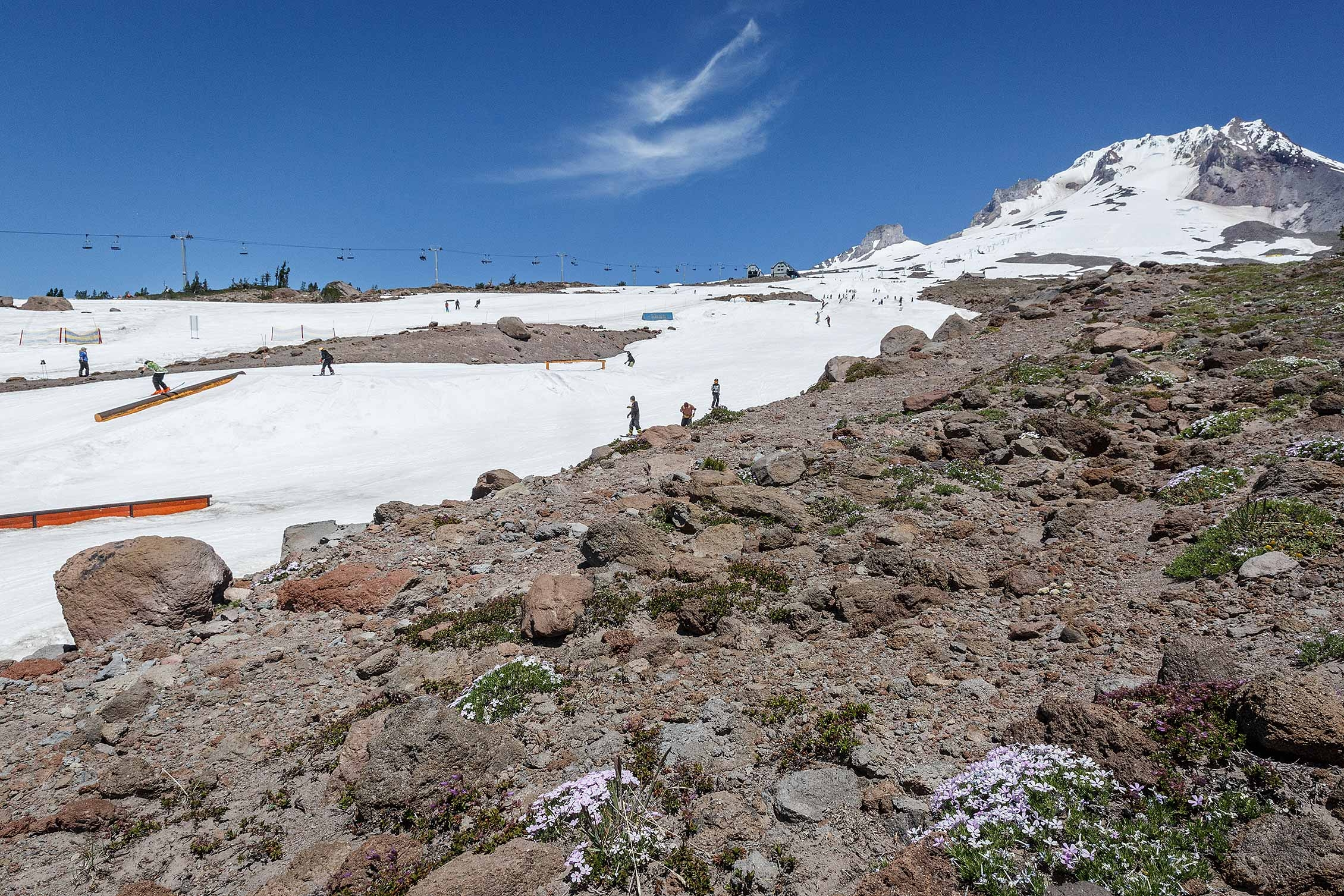 Summer riding up at Timberline Lodge. Get up there and have fun! Image Courtesy: TimberlineLodge.com