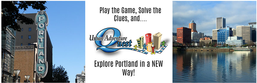 Have fun re-discovering Portland via Urban Adventure Quest's challenging scavenger hunt! Image Courtesy: UrbanAdventureQuest.com