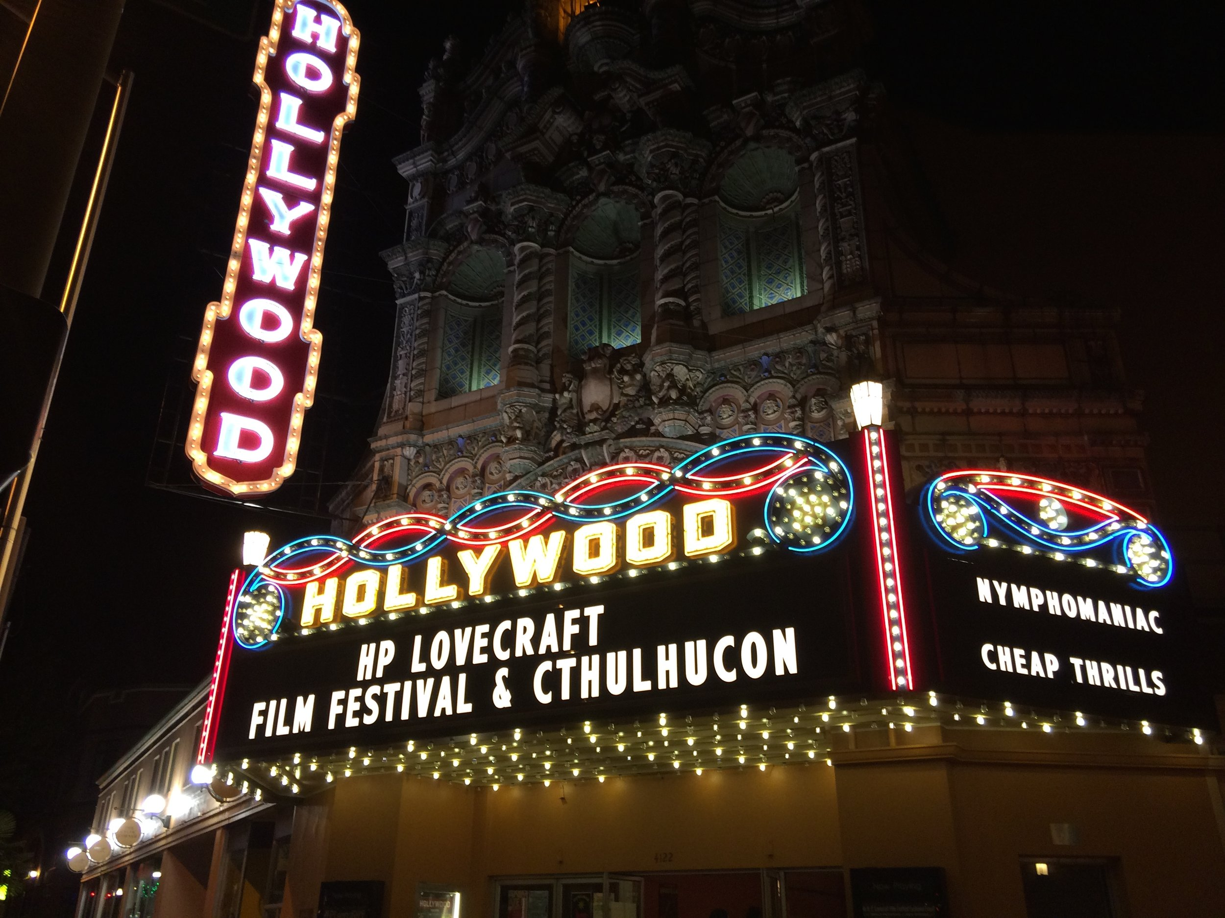 """The H.P. Lovecraft Film Festival, otherwise known as Portland's """"Weird Film Festival,"""" is the perfect activity to lead up to Halloween. Several U.S. and regional premieres will make their debut October 5-7 at PDX's Hollywood Theater. Image Courtesy: HPLFilmFestival.com"""