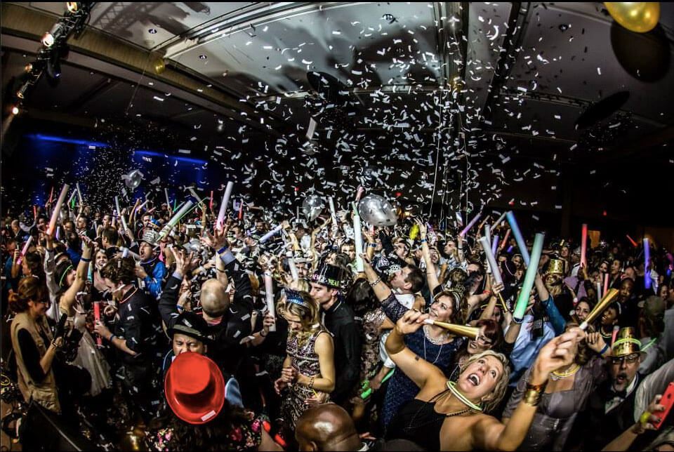 Possibly the biggest party in PDX, The Champagne Ball will get you in a big time New Years mood! Image Courtesy: champagneball.com