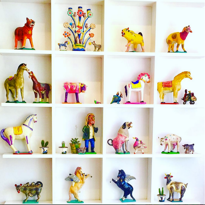 This selection of hand-crafted animal figures is just too cool. Not one is the same. Just love the originality and lack of plastic! Image Courtesy: HelloGoodMorningKids.com