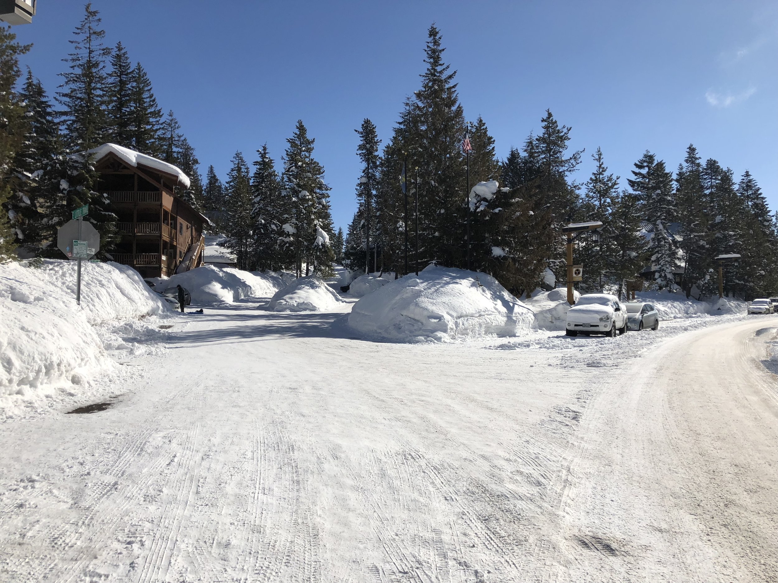 Another look at Government Camp in nearly mid-March; you'd swear it was January! Image Courtesy: Dan Meyers