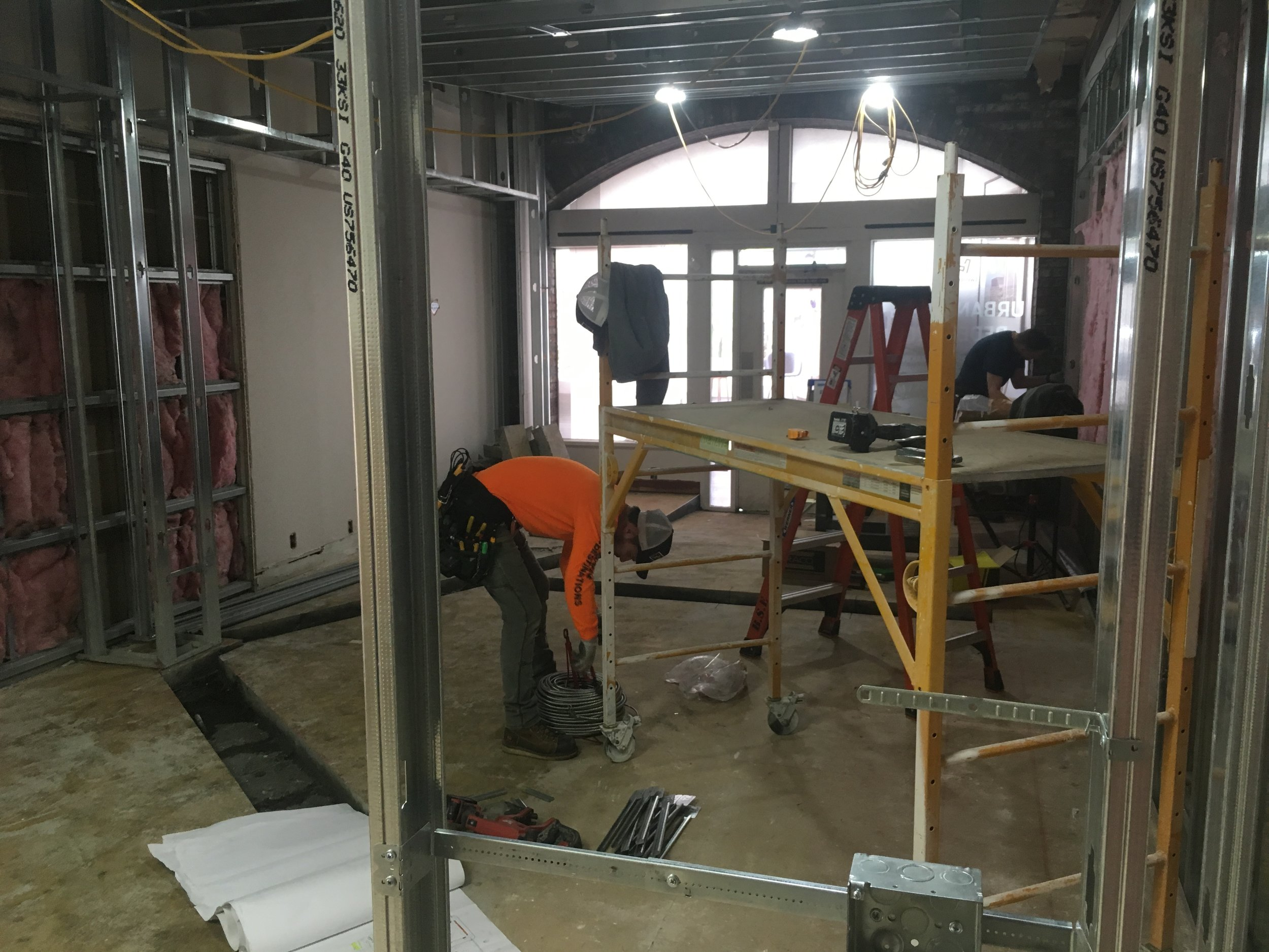 Workers are busy at Eyes on Broadway…expanding, expanding! Image Courtesy: Eyes on Broadway