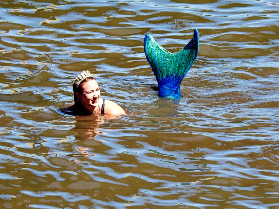 Some will take things to the next level, donning mermaid tails and going for a swim in the Willamette River! Enjoy! Image Courtesy: PortlandMermaidParade.com