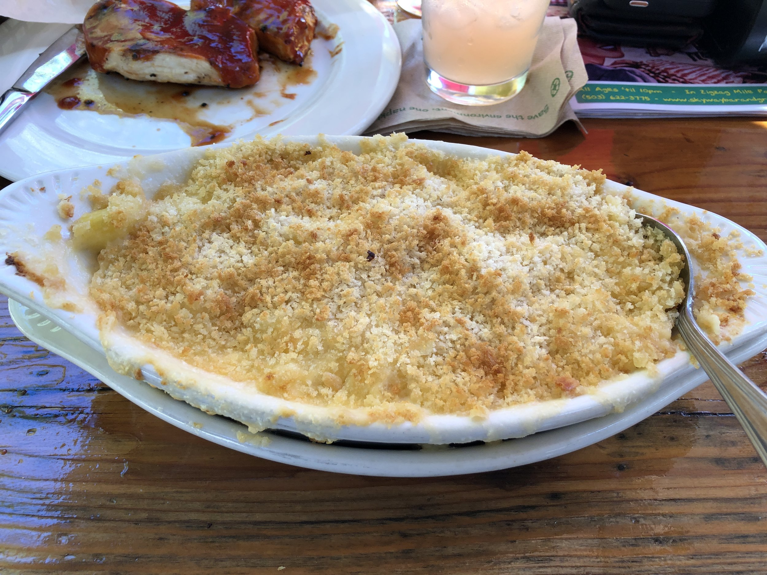 Aside from the staff and ambiance, this particular mac n' cheese is what keeps my mom headed back up to the Skyway. Can't wait to try! Image Courtesy: Becky Jahns