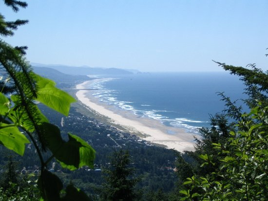 A view of Manzanita from the top of Neakahnie Mountain…a wonderful place to hike near town! Image Courtesy: TripAdvisor.com