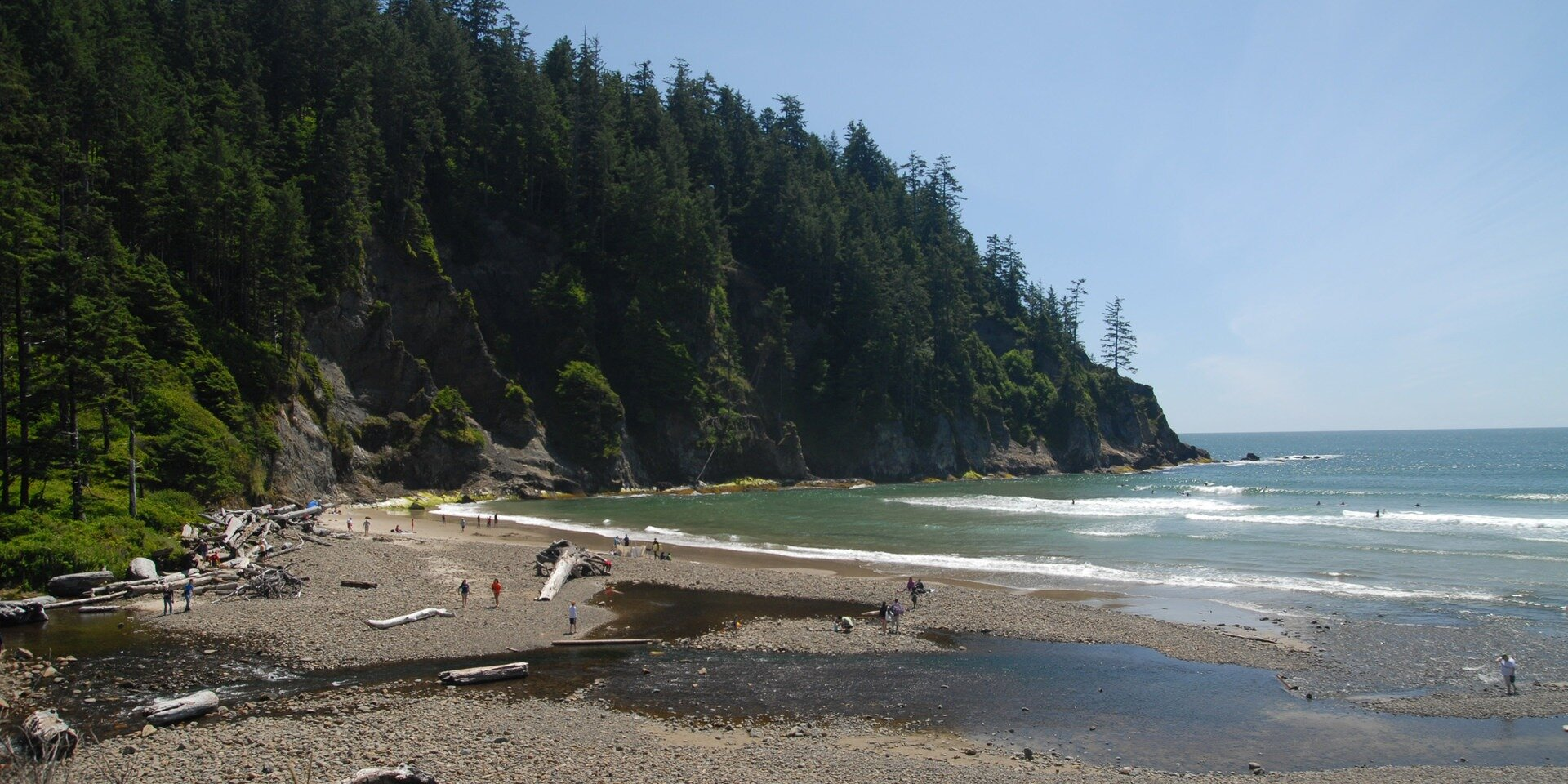 The beauty of Short Sands Beach is un-matched. Image Courtesy: OutdoorProject.com