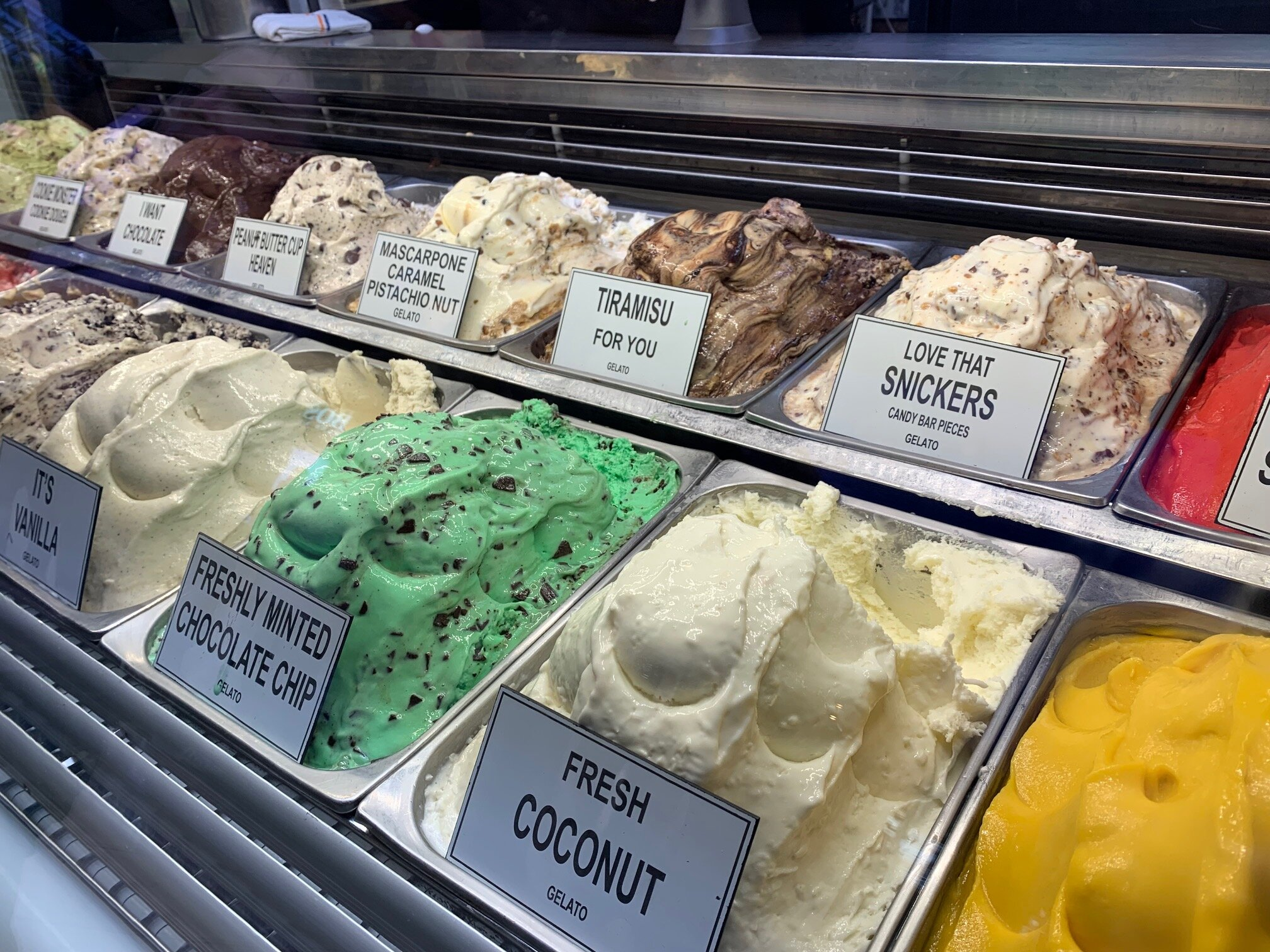 We ran into this gelato stand near La Piazza. Had to wait until after dinner to partake of course! Image Courtesy: Dan Meyers