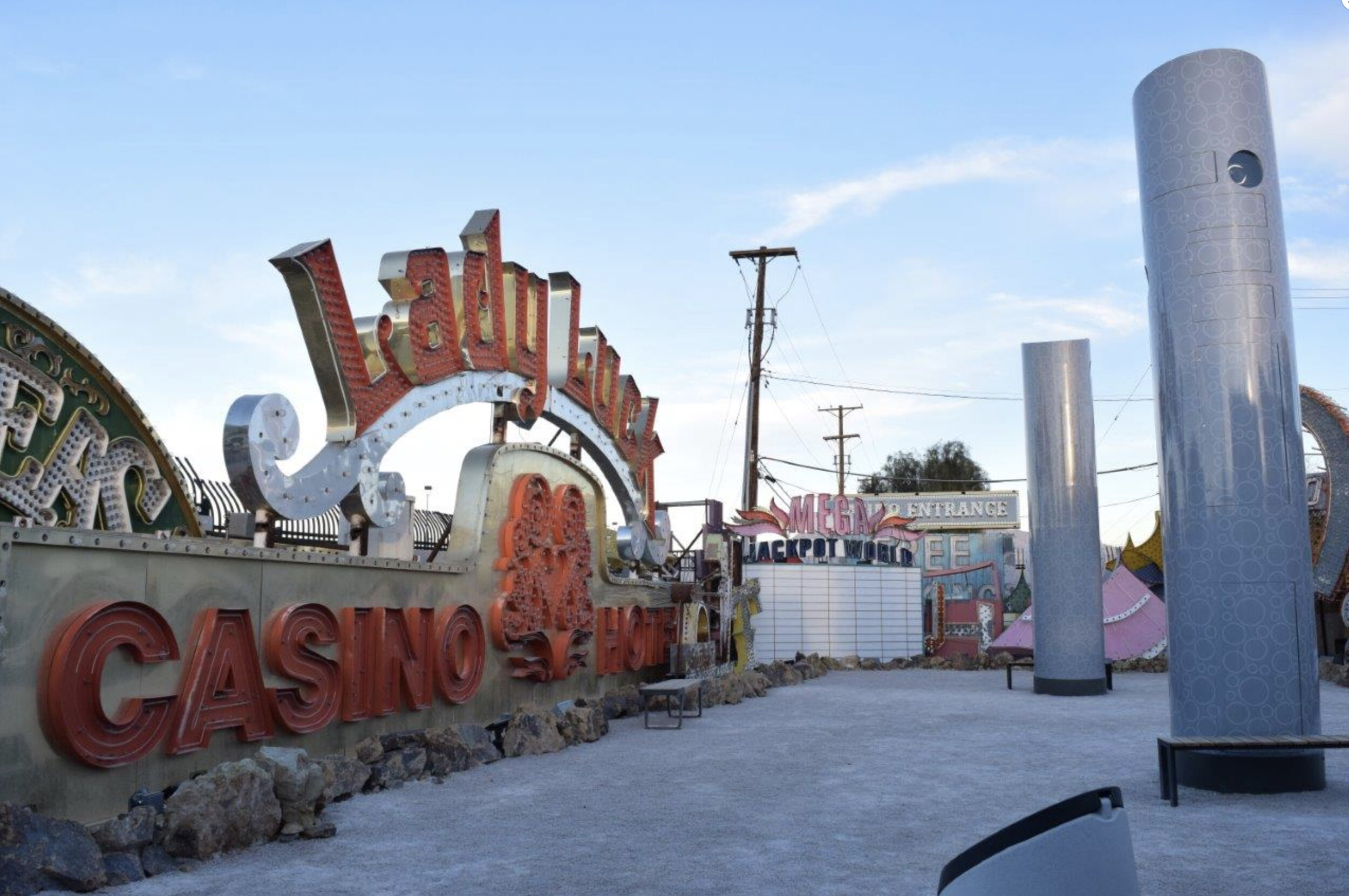 Here's just one shot of the Neon Museum in Old Vegas. So much history here. This is a must visit. Image Courtesy:  www.neonmuseum.org