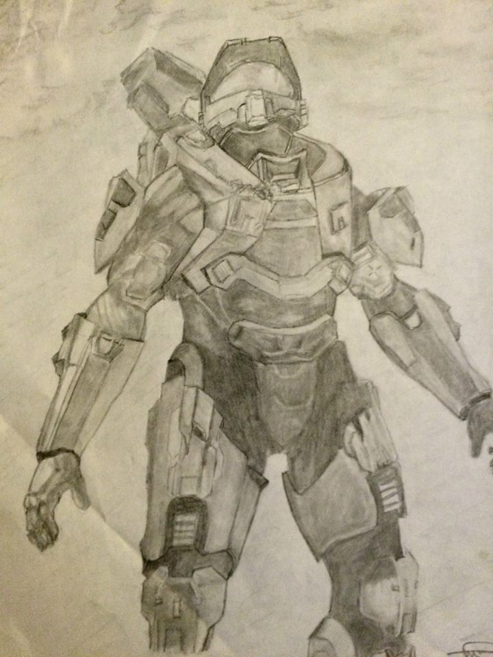 This is just a pencil drawing I did.