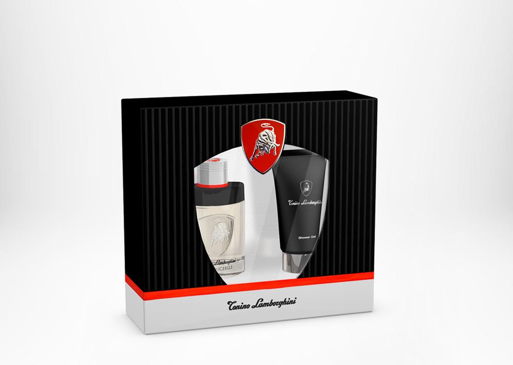 Tonino Lamborghini INVINCIBILE Gift Set Edt 40ml / 1.3 fl. oz. + Shower Gel 100ml / 3.4 fl. oz.