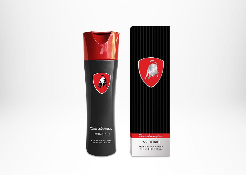 Tonino Lamborghini INVINCIBILE Hair and Body Wash 400ml / 13.6 fl.oz.