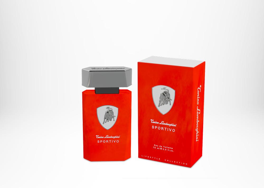 Tonino Lamborghini SPORTIVO Edt 75 ml / 2.5 fl. oz. Spray