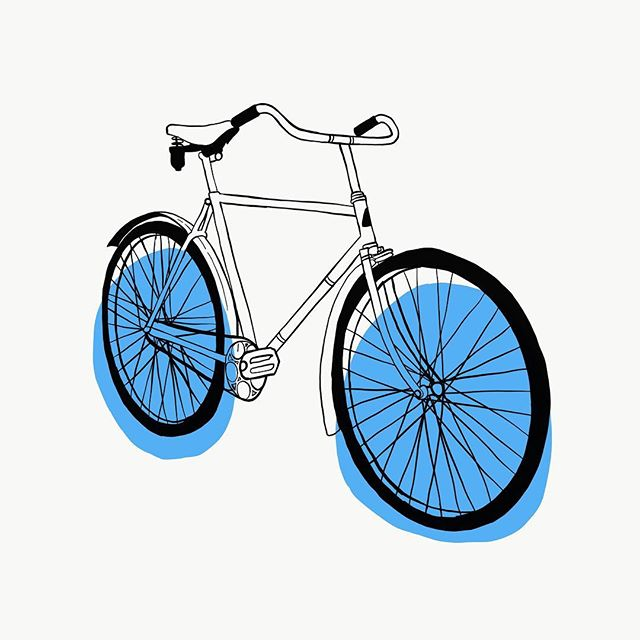 Working on some new illustrations for an upcoming post about the Blue City. Keep an eye on @latitude_journal for more!! - #latitudejournal #graphicdesign #illustration #bicycle #drawing #bicycleillustration #travel #blue #twowheels #adobe #adobedraw #ipadpro @apple @adobe #create #art #createexplore