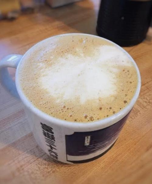 Yummy pumpkin spice latte