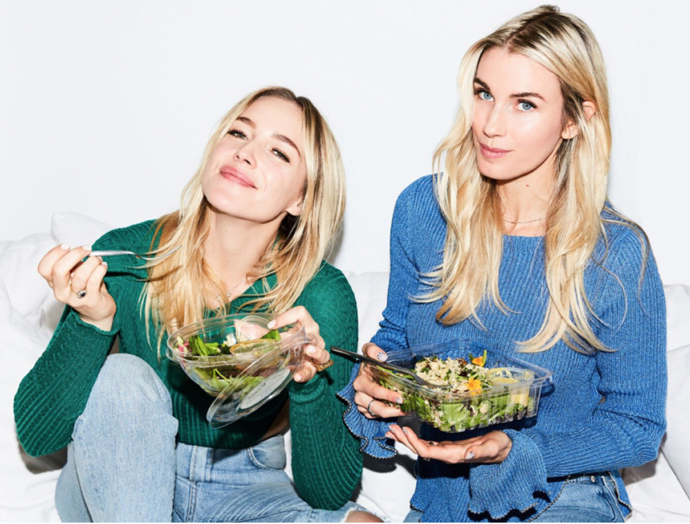 Danielle DuBoise & Whitney Tingle, founders of Sakara Life, both grew up together, and attended  IIN .