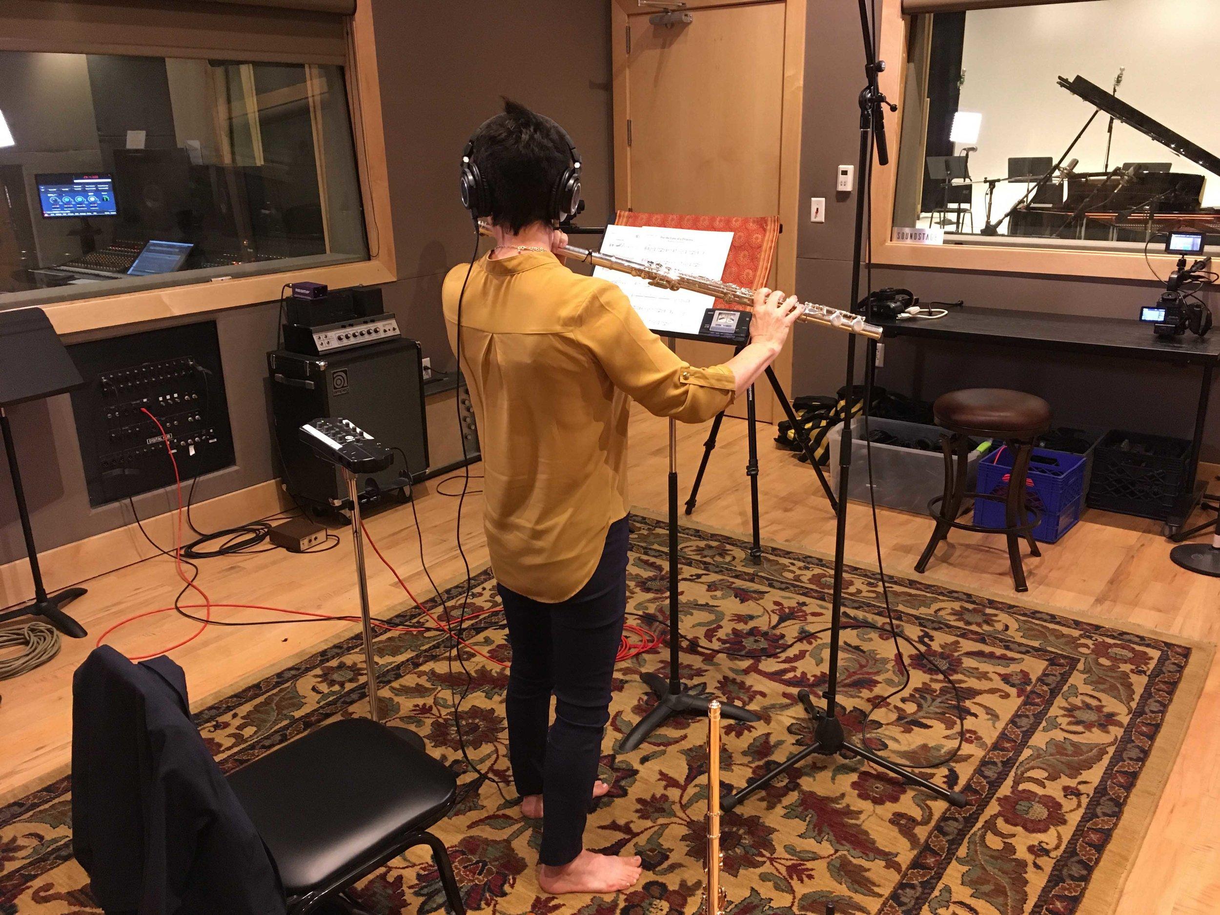 Jeannine Goeckeritz – Come Dream With Me Album – Recording Session – HUGEsound Post Production - Alto Flute.jpg