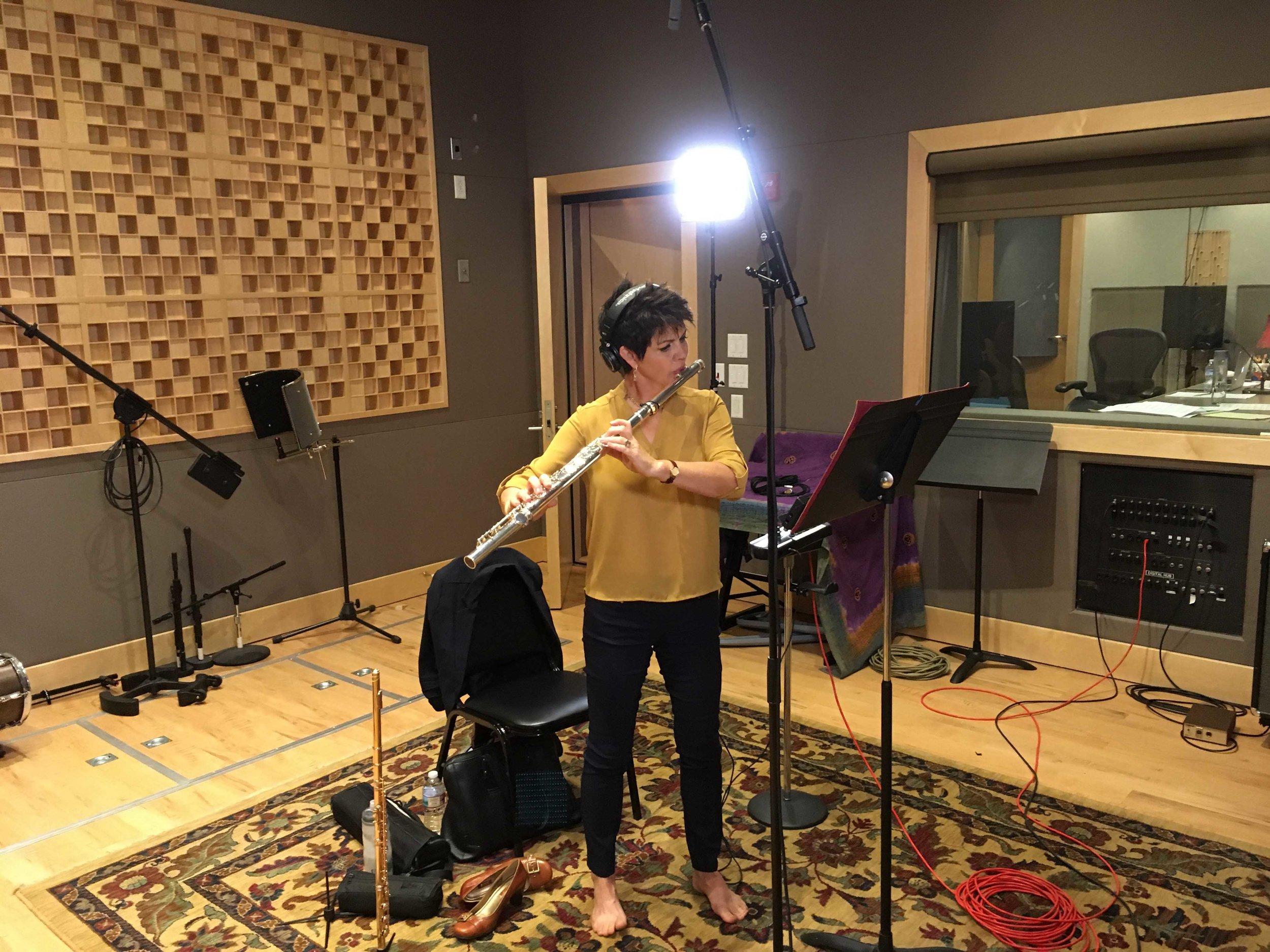 Jeannine Goeckeritz – Come Dream With Me Album – Recording Session – HUGEsound Post Production - Alto Flute 1.jpg