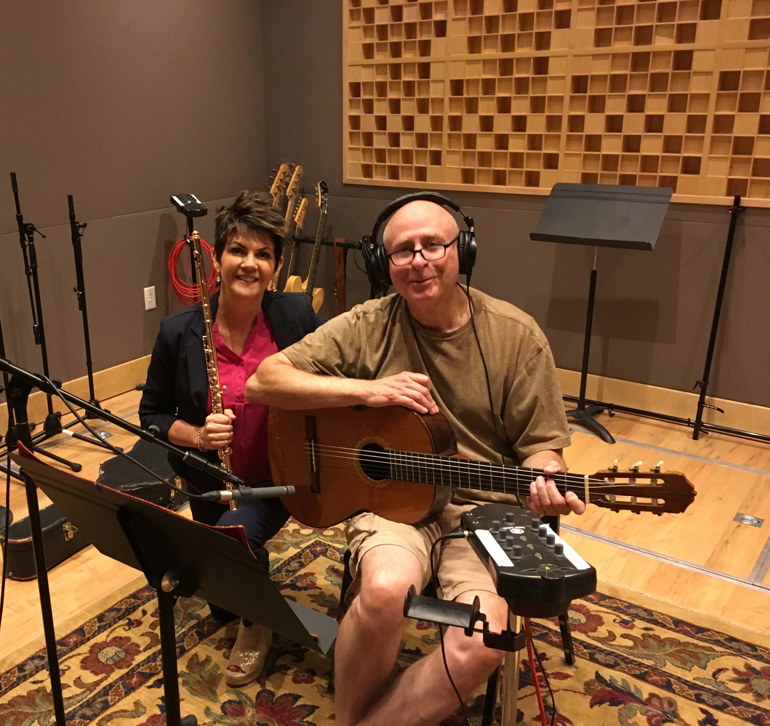 Jeannine Goeckeritz – Come Dream With Me Album – Recording Session – HUGEsound Post Production - Rich Dixon - Guitar.jpg