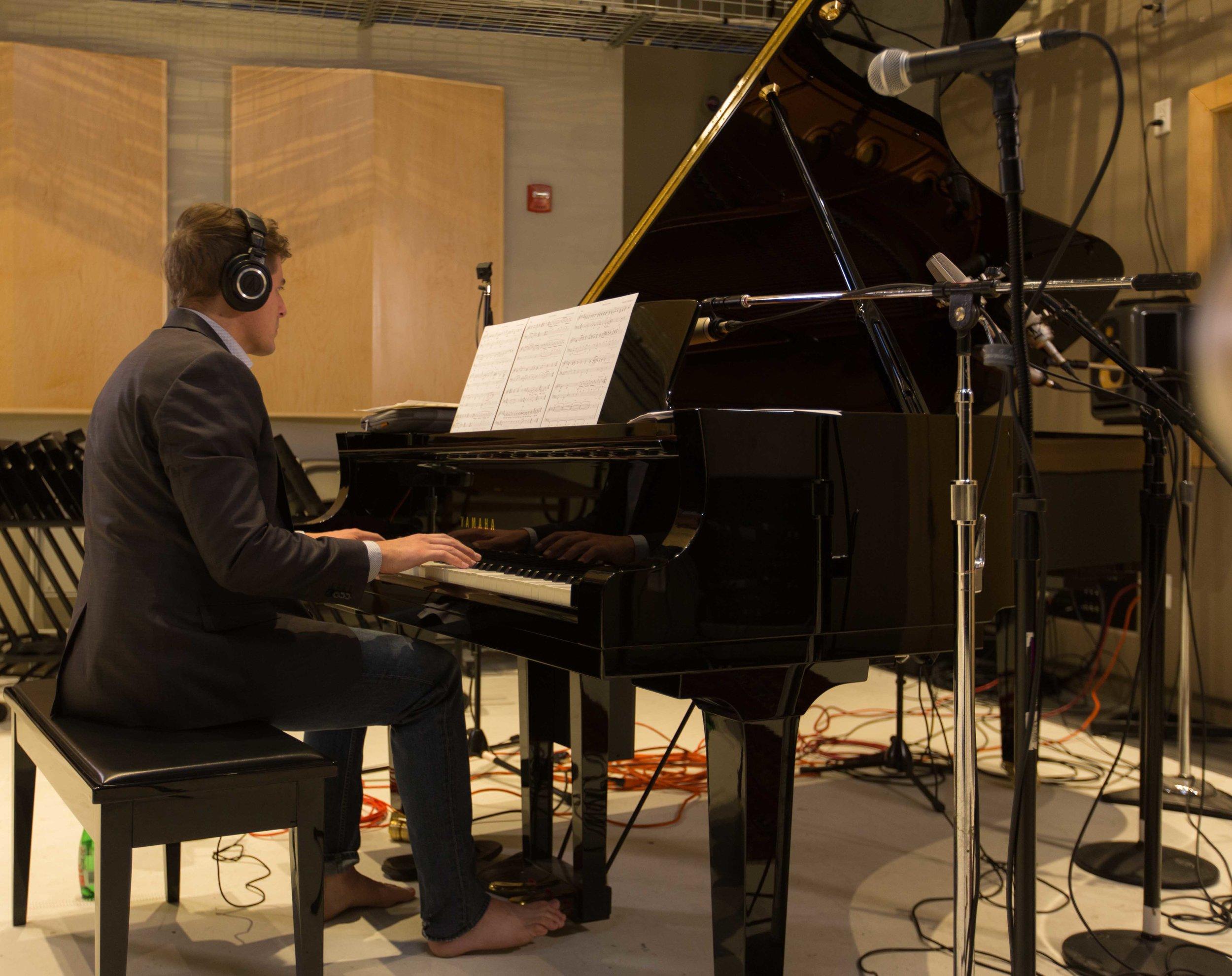 Jeannine Goeckeritz – Come Dream With Me Album – Recording Session – HUGEsound Post Production - Josh Wright - Piano.jpg