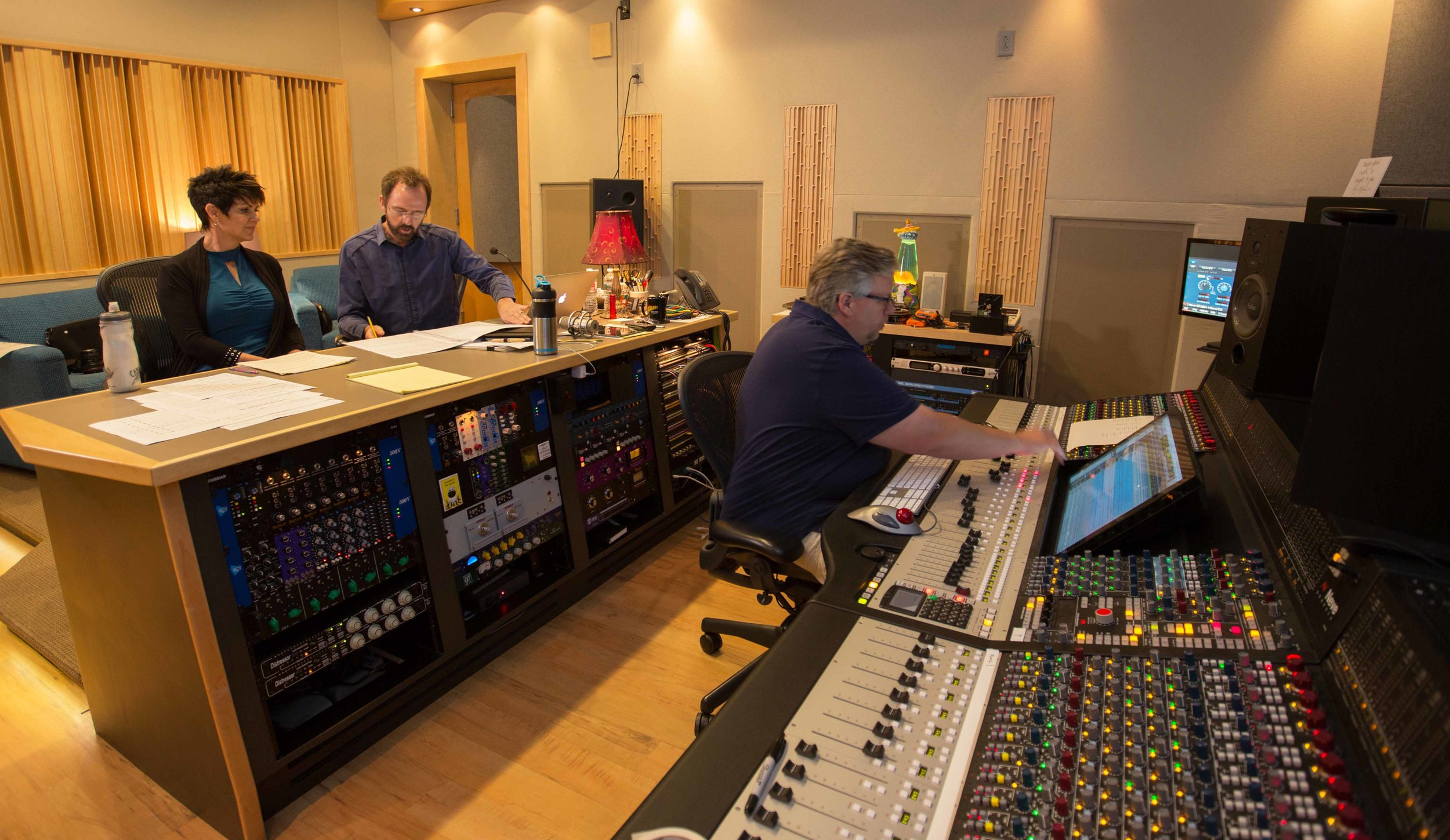 Jeannine Goeckeritz – Come Dream With Me Album – Recording Session – HUGEsound Post Production - Chance Thomas – Michael Greene - Recording Booth.jpg