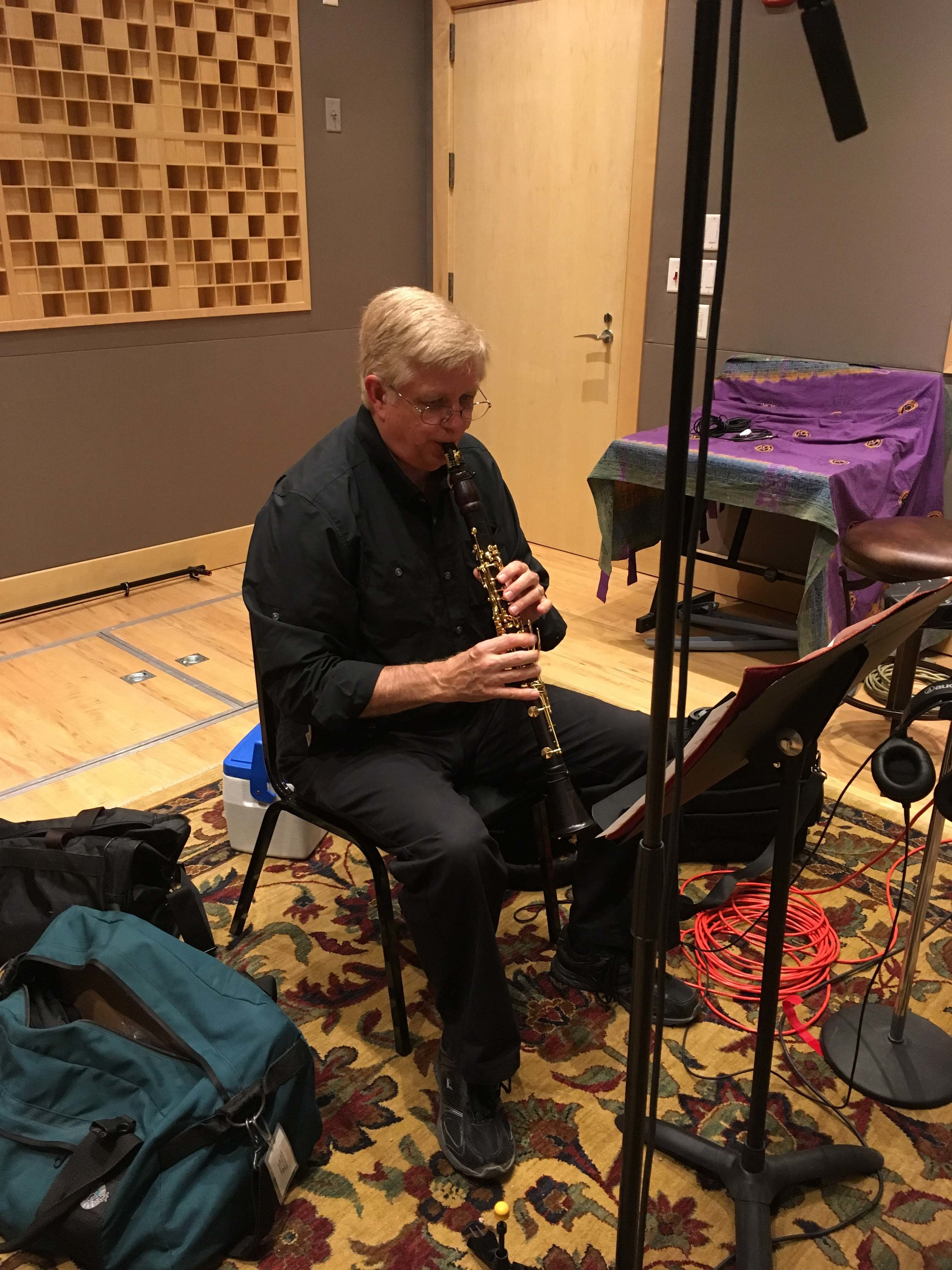 Jeannine Goeckeritz – Come Dream With Me Album – Recording Session – HUGEsound Post Production - Daron Bradford - Clarinet.jpg