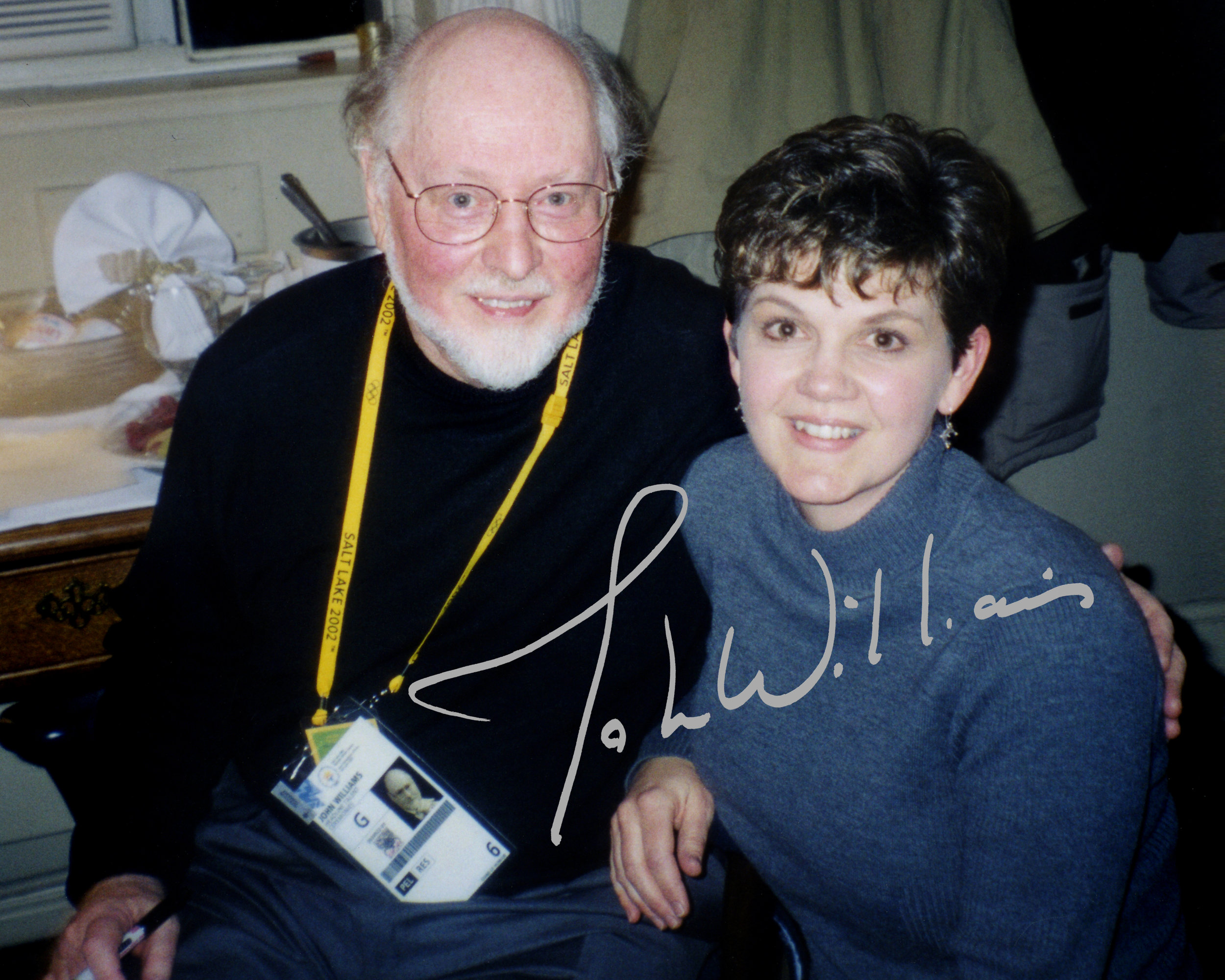 Jeannine Goeckeritz - John Williams - 2002 Winter Olympics Performances