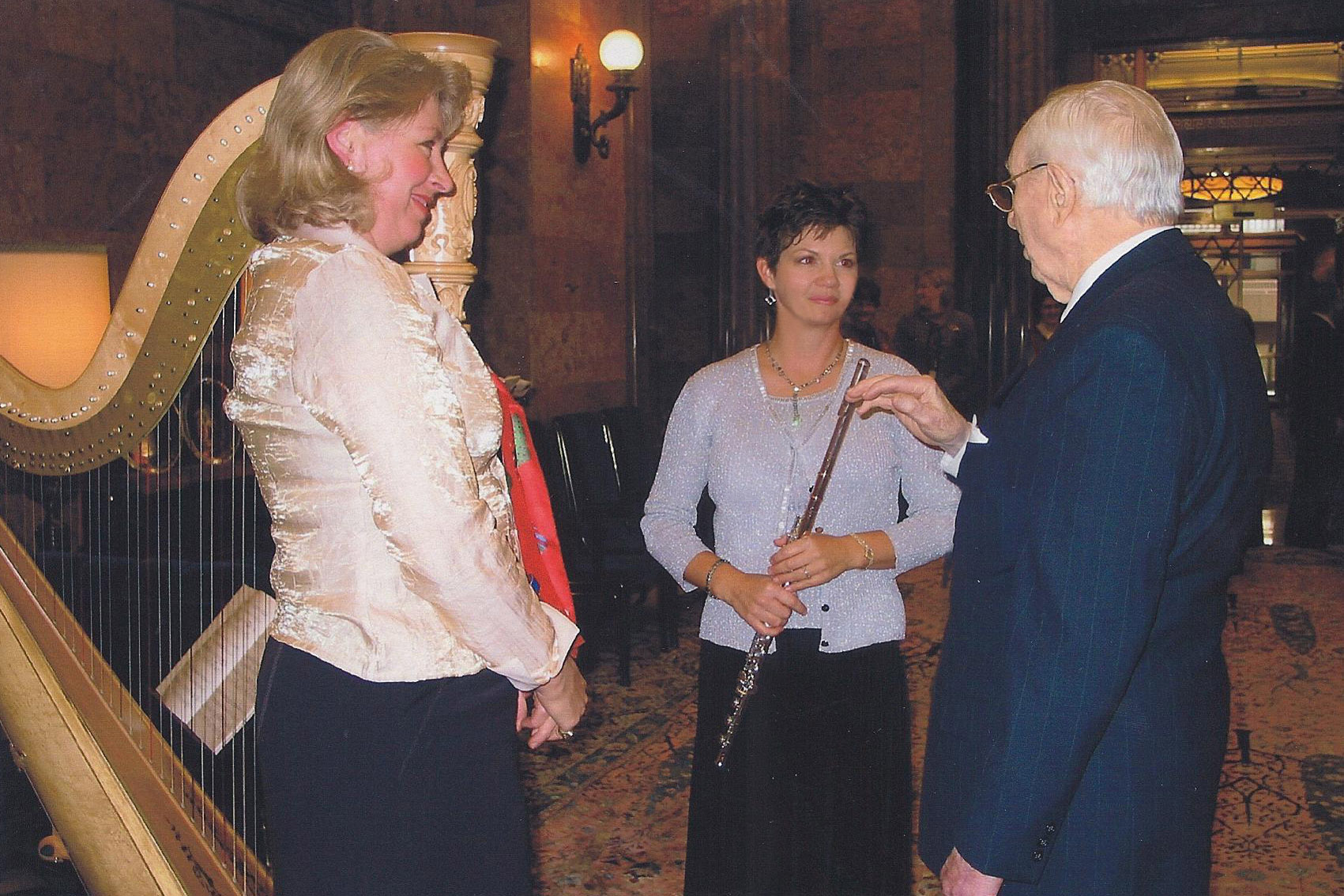 Jeannine Goeckeritz - Tamara Oswald -  President Gordon B Hinckley.jpg