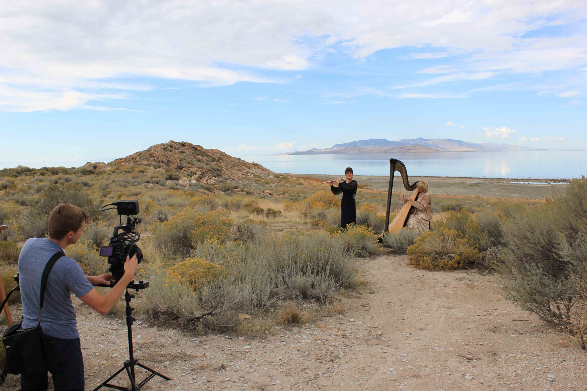 Jeannine Goeckeritz - Flute - Tamara Oswald - Harop - Behind the Scenes - Music Video Shoot - Media.jpg