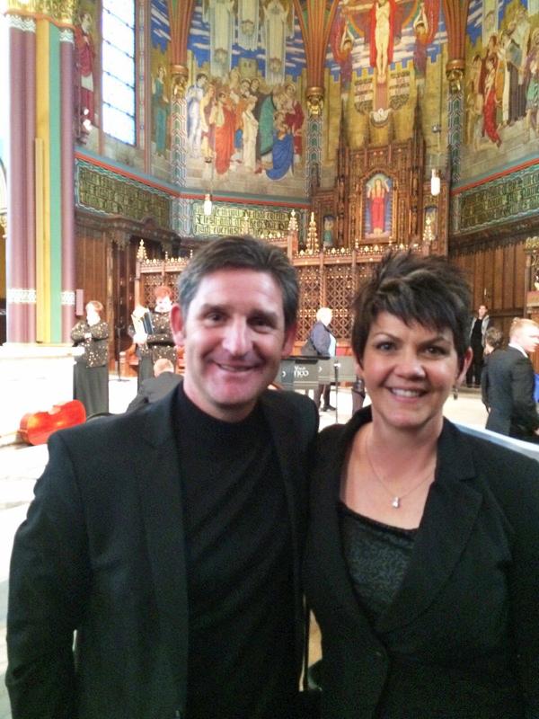 Jeannine Goeckeritz - Paul Phoenix - Cathedral of the Madeleine - St. Matthew Passion Concert Performance.jpg
