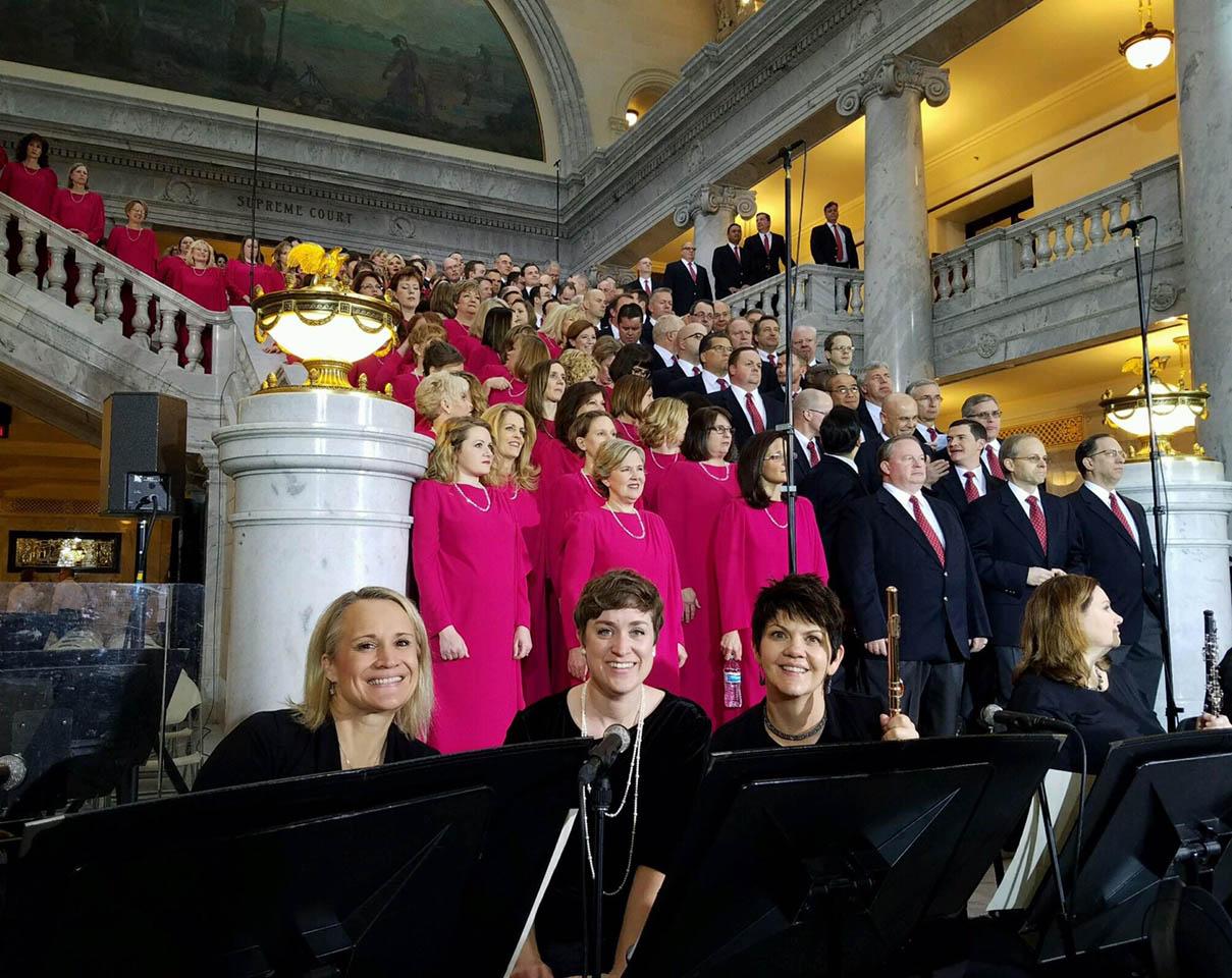 Jeannine Goeckeritz - Lisa Smith - Lisa Whatcott Governor Inauguration.jpg