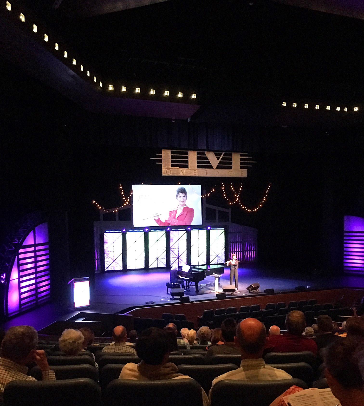Jeannine Goeckeritz - Melanie Shore - Live On Stage - Polk Theater - Nashville Tennessee.jpg