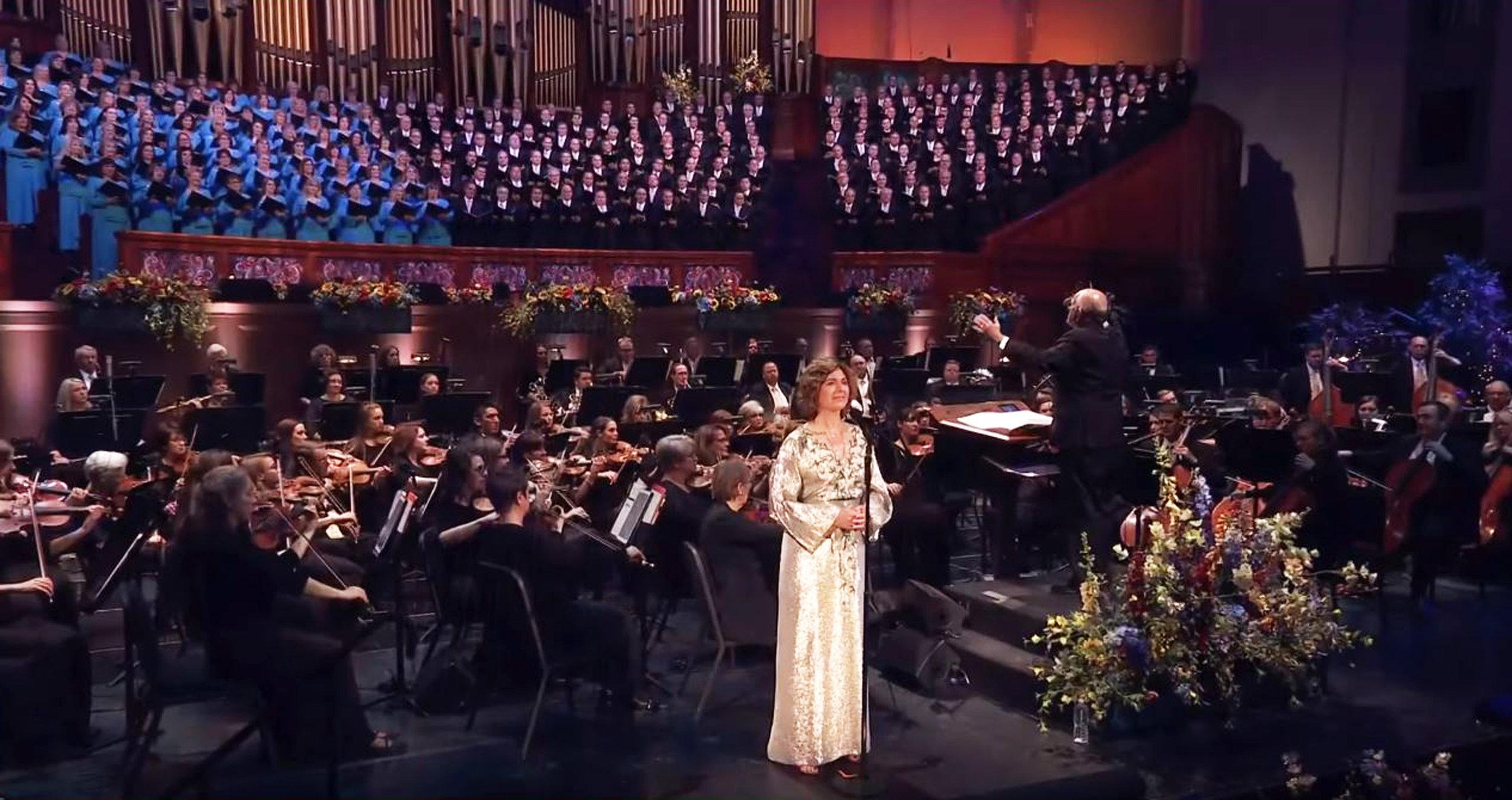 Sissel Concert - Jeannine Goeckeritz - Flute -Tabernacle Choir Orchestra Temple Square.jpg