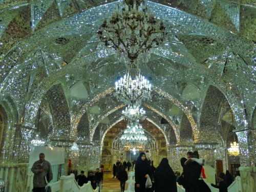 View of mosque in Shiraz, Iran: King of Lights