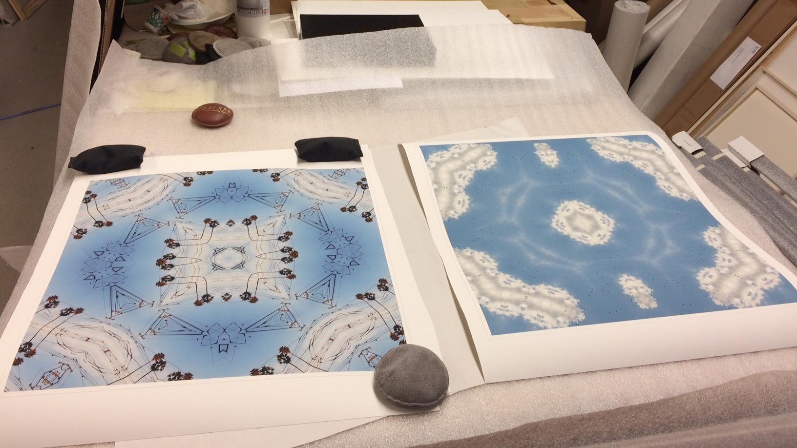 "MISSION, 2015, & RICHMOND, 2015, 20"" x 20"" Pigment print on archival paper."