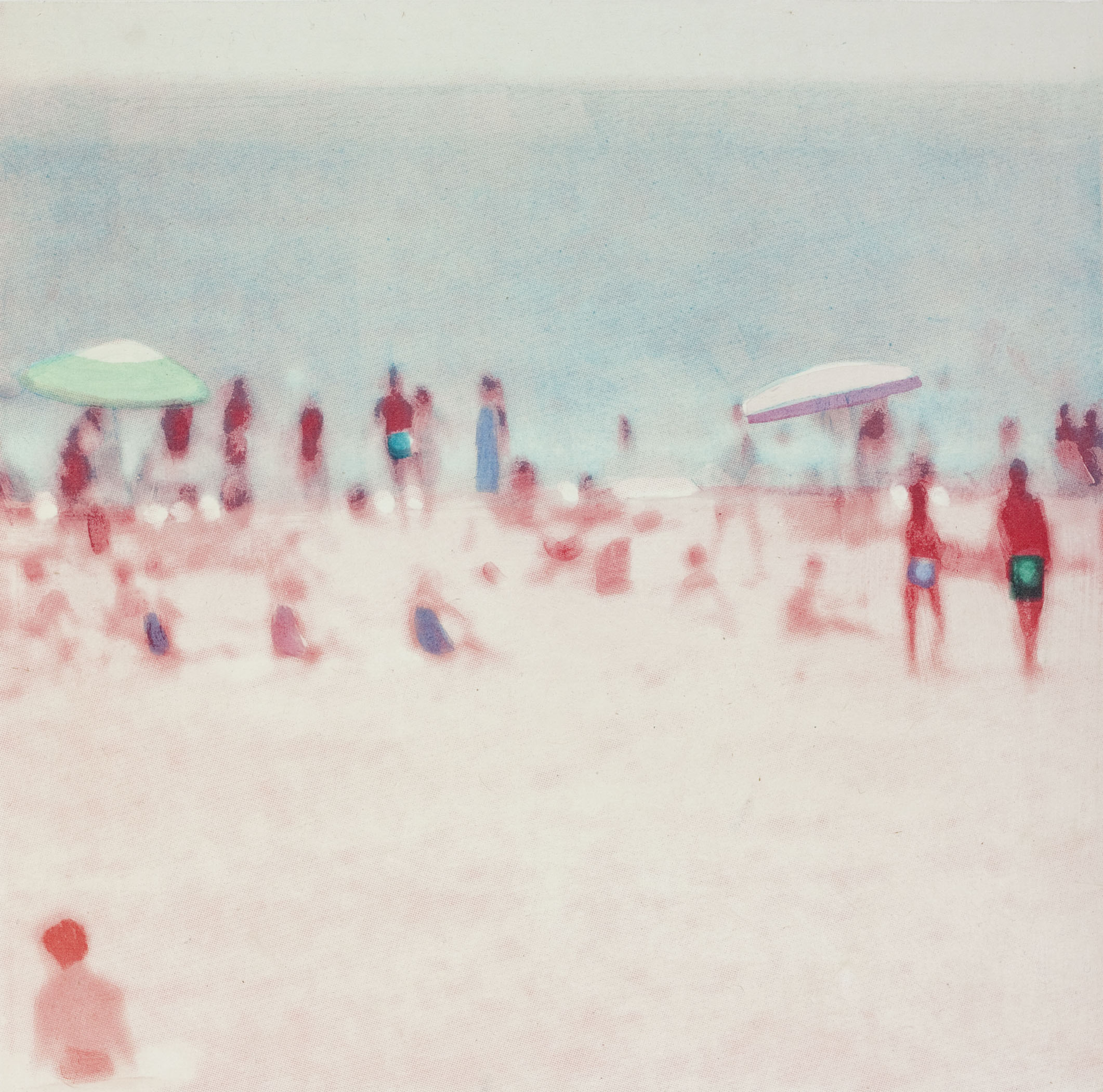 """Wildwood (Detail II),  2014,  Direct to plate photogravure and aquatint, 18 3/4"""" x 18"""", Edition of 35"""