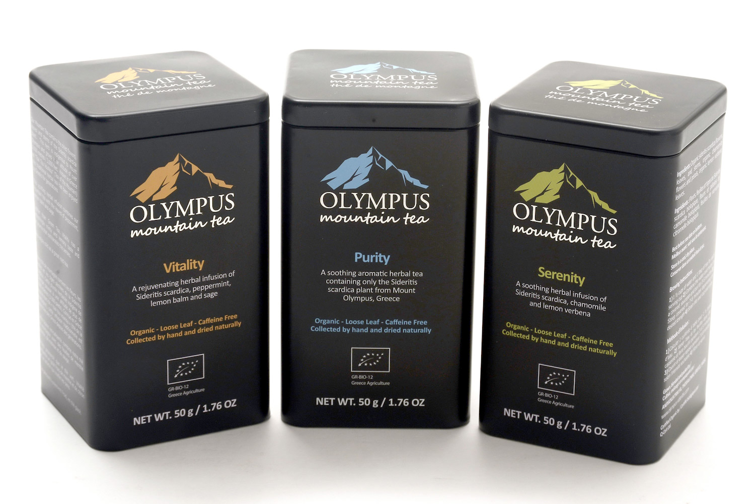 Olympus Mountain Tea Collection