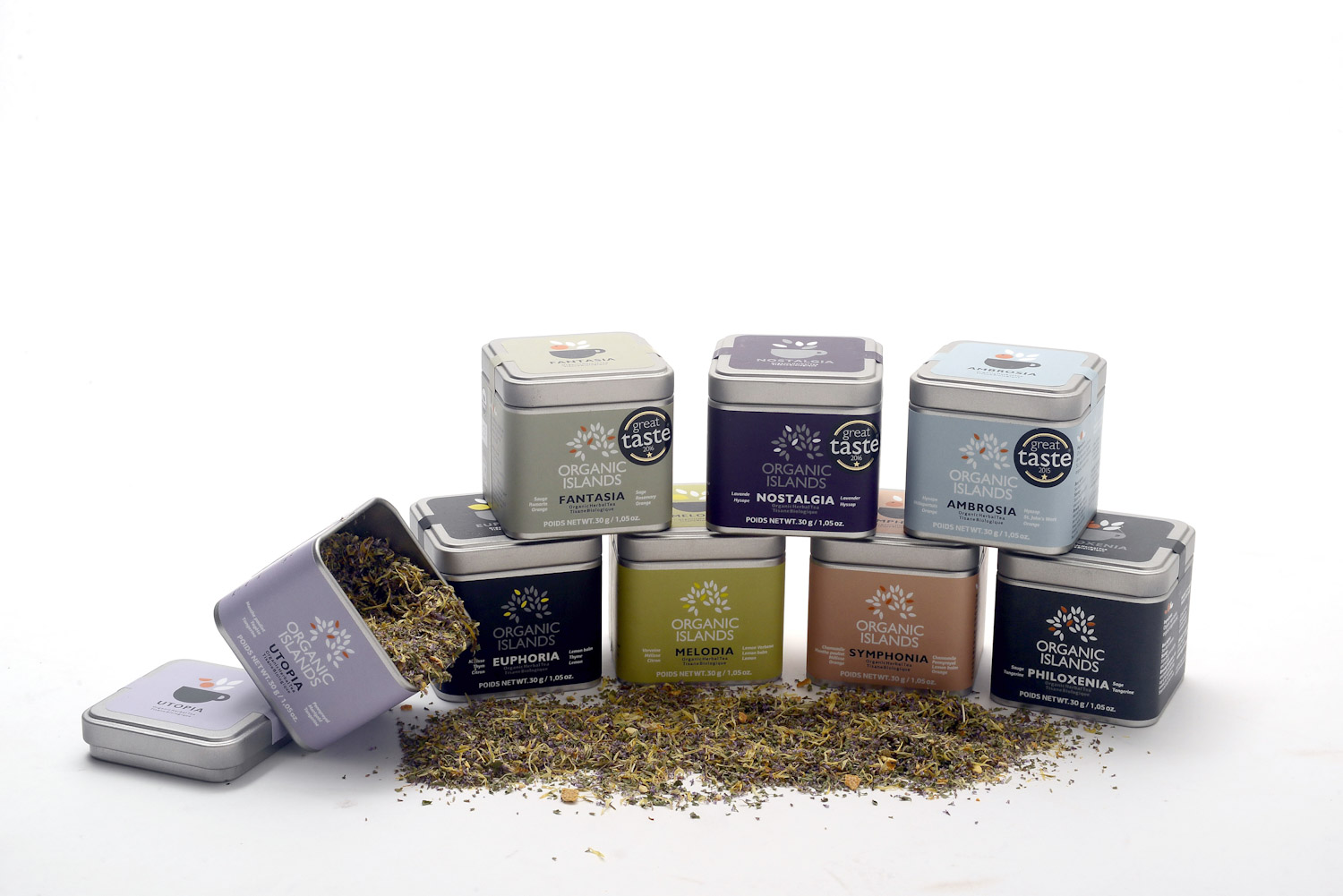 Organic Islands Herbal Teas - It's herbal health in a cup… Organic, hand picked, loose leaf & caffeine -free