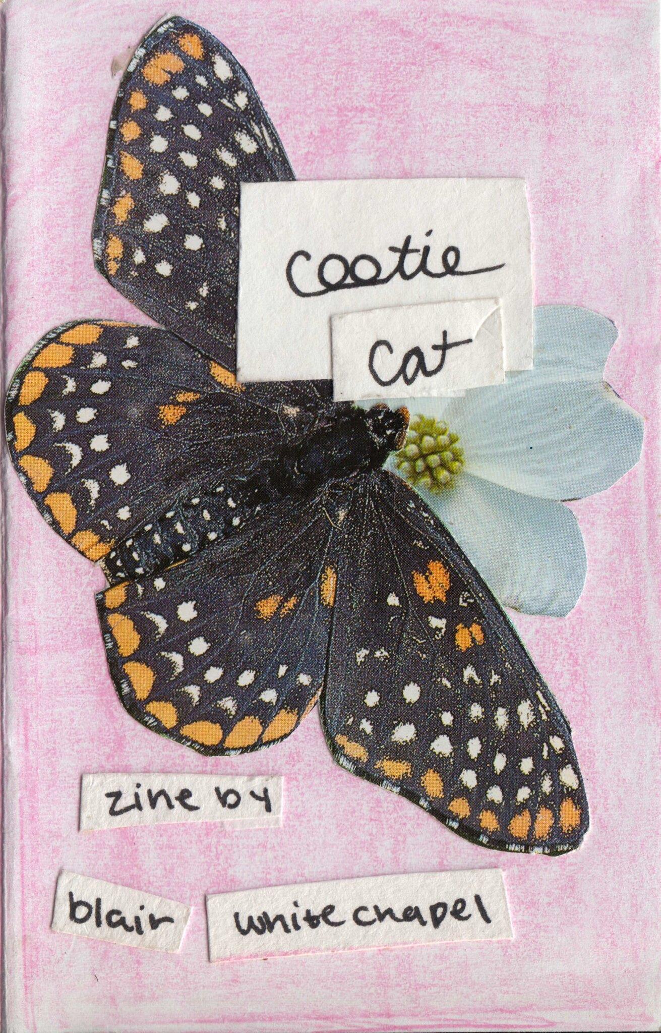 'cootie cat' zine - a zine about gender, body image and self esteem.> Read or buy zine