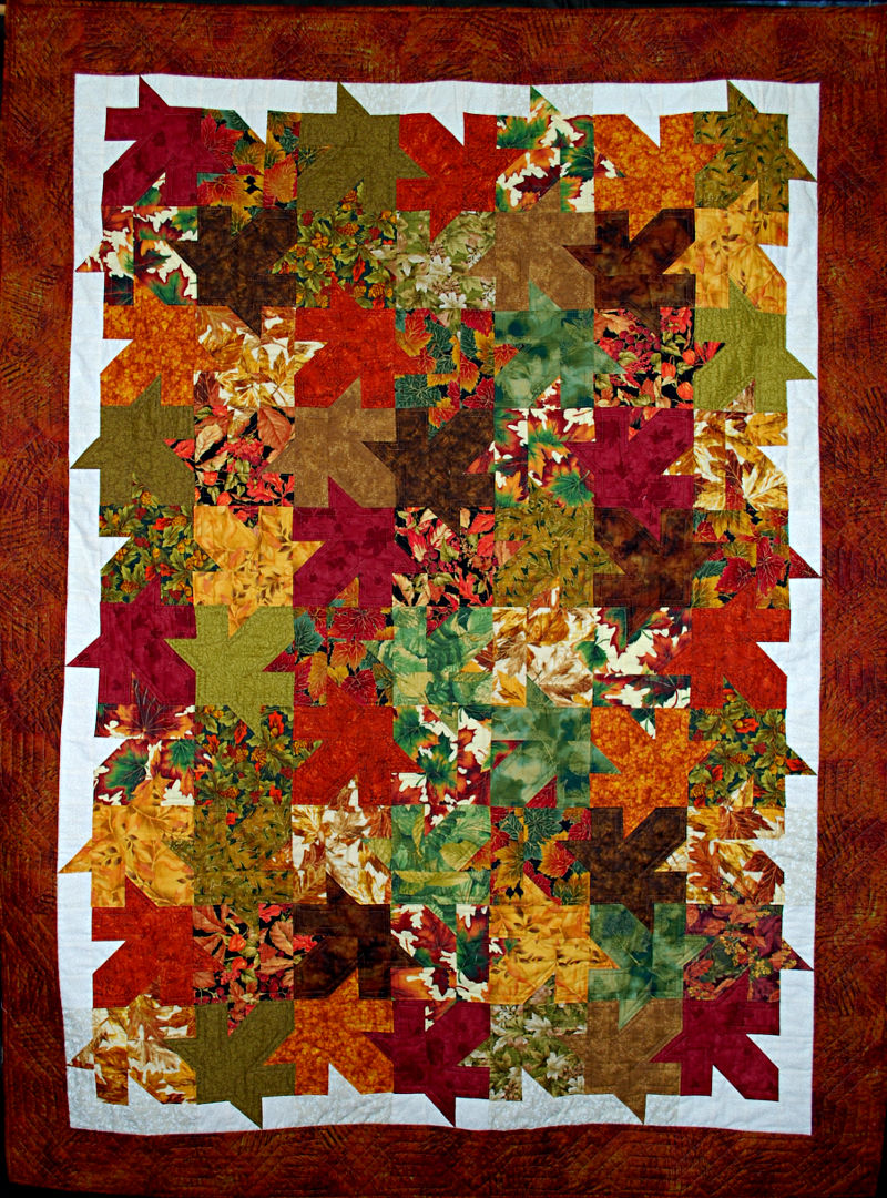 Tesellated Leaves - June Mannix