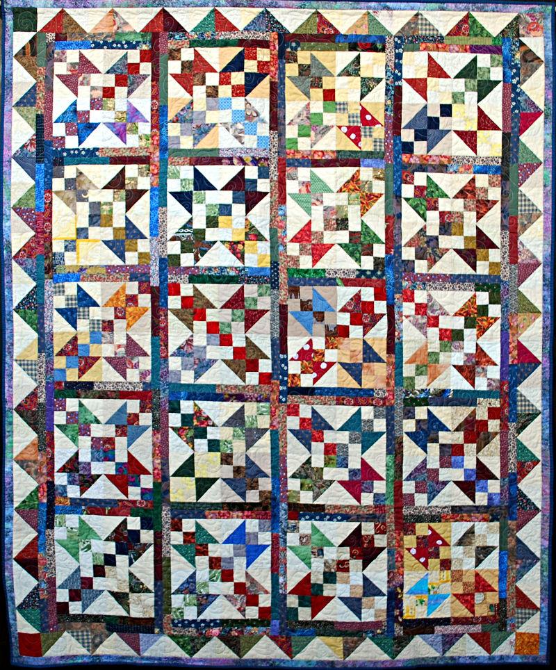 Patchwork Puzzle - Diane Renwick