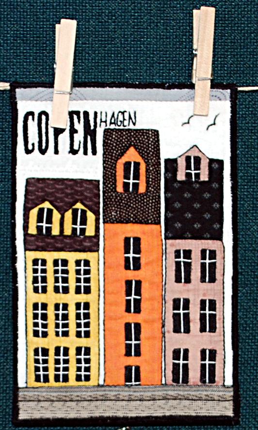 Postcard from Home  1st  - Copenhagen - Lois Zachariassen