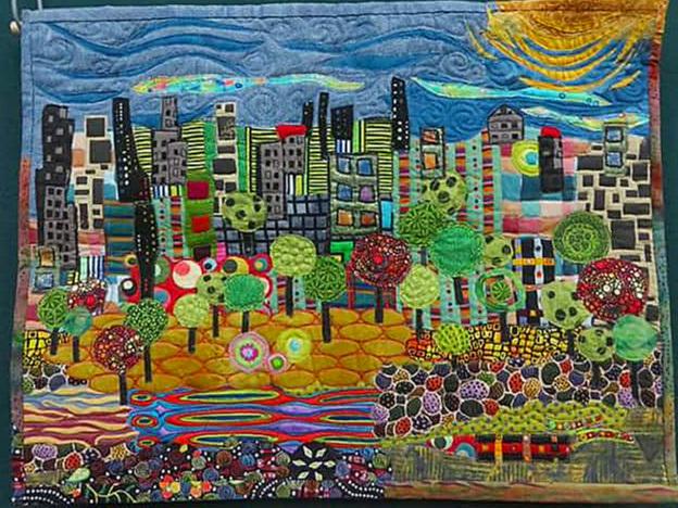 Donna Armstrong - Hundertwasser II - City Park