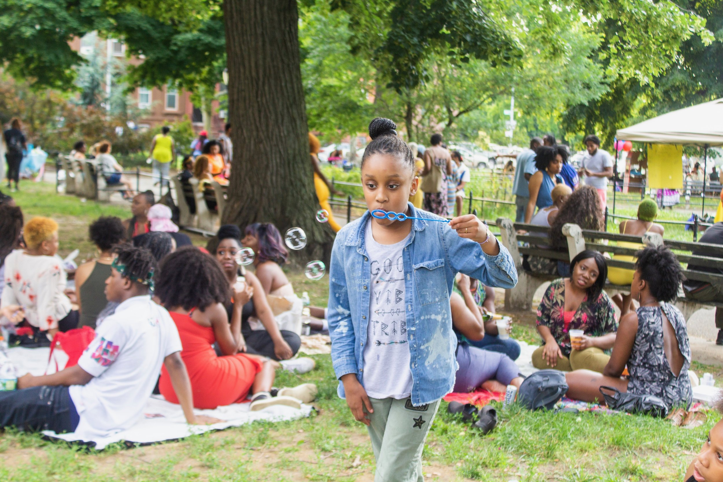 #CareFreeBlackGirl Cookout Brooklyn June 2018