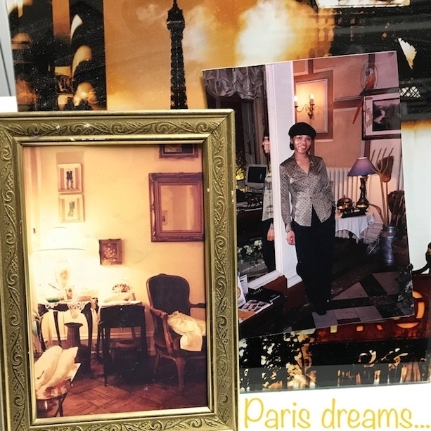 My first atelier in Philadelphia,1991 and Paris, 1998 -