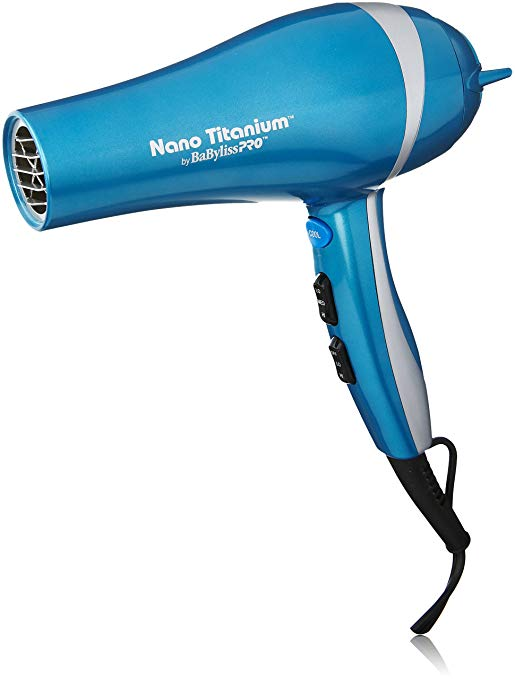 BabylissPro Nano Titanium: $85: Powerful blowdryer, durable and long lasting. Fits a universal pick attachment.