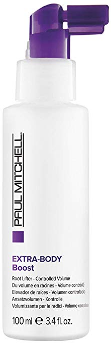 Paul Mitchell Extra-Body Boost: $22, lifts roots well and smells amazing.