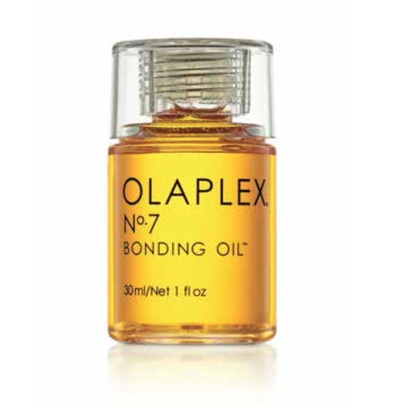 Olaplex #7 Bonding Oil: $28, Smooths fly always, adds shine, smells amazing.