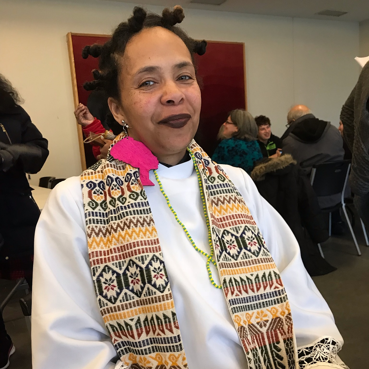 """What is important to me is that instead of just succeeding in the end game of simply becoming a Lutheran Pastor, the end game as one of my Elder's stated so clearly is serving and transforming this world, not only now but beyond. My voice needs to be heard and understood as the continuing song of my Ancestors, who have charged me with the responsibility to continue to fight against inequality and violence.""  The Rev. Kwame Pitts, Body and Soul UChicago Campus Ministry's Pastor"