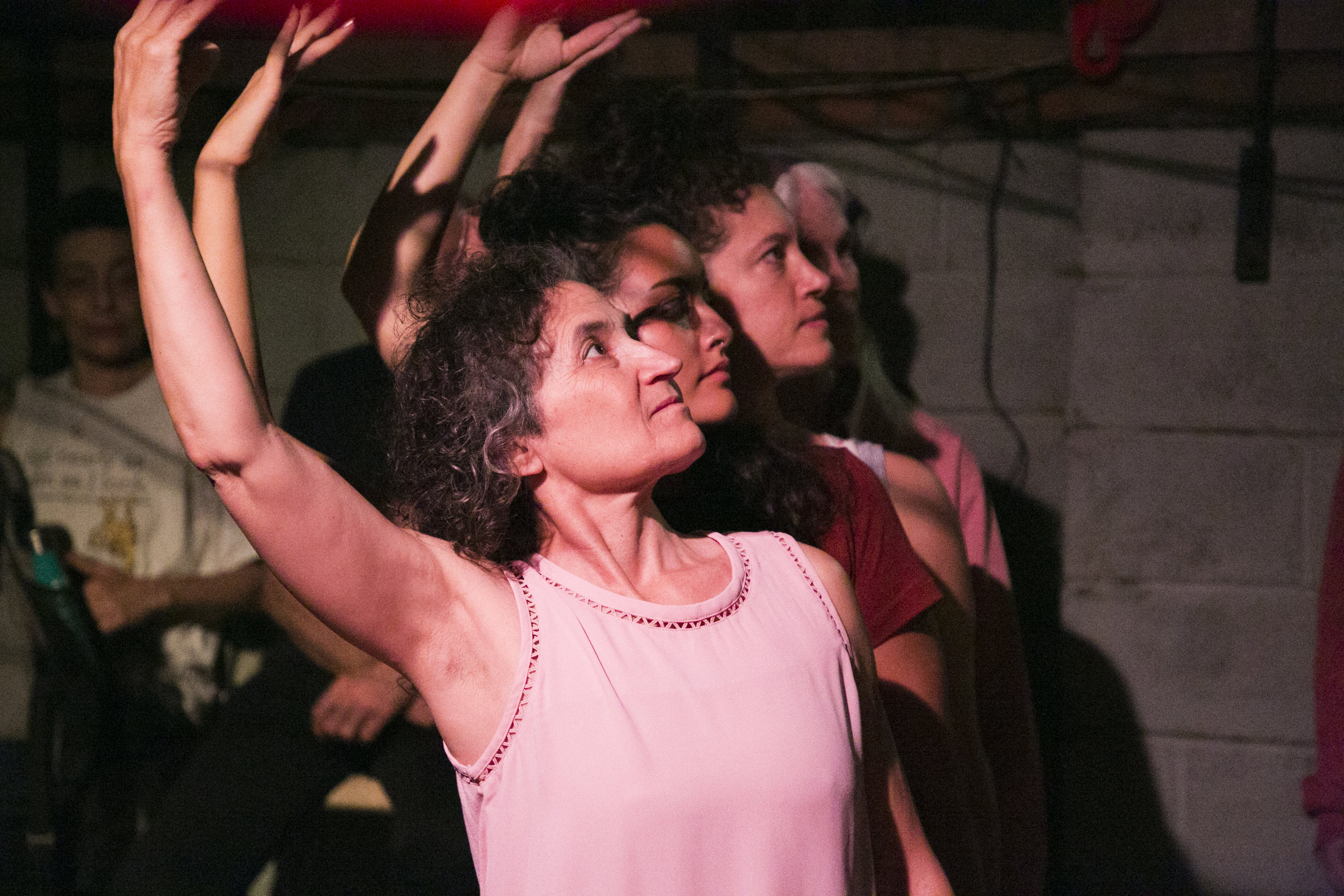 Dancers: Trina Mannino and company at Triskelion in Brooklyn, NY Photo: Whitney Browne